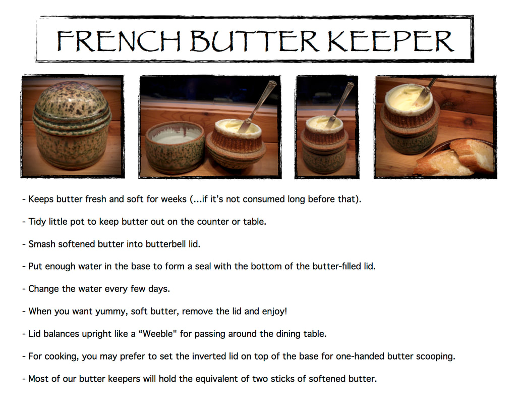 Bowen Butter Keepers are easy to use, nifty accessories for any kitchen!